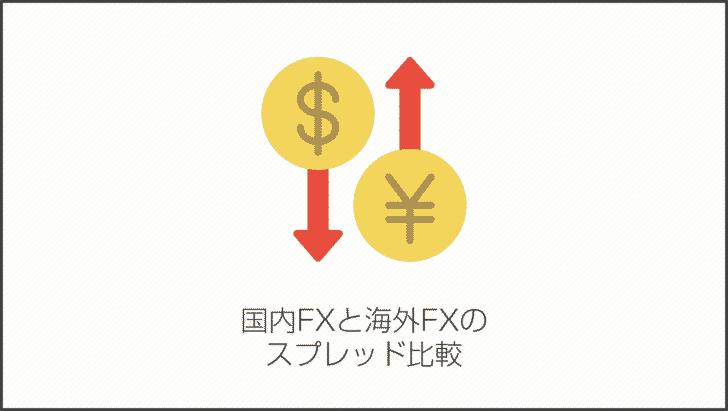 国内FXと海外FXのスプレッド比較