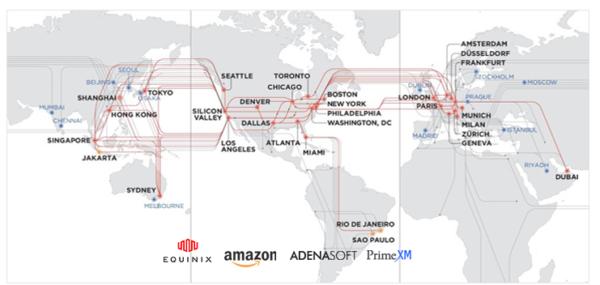 Land-FXでは複数のデータセンターを併用