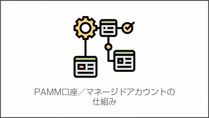 PAMM口座/マネージドアカウントの仕組み