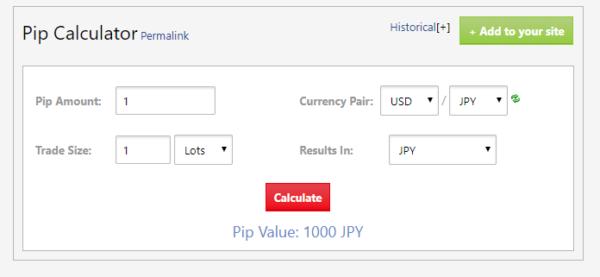 「米ドル/円」1ロット(10万通貨)のトレードで1pipsの儲けの価値は?