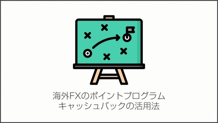 海外FXのポイントプログラム・キャッシュバックの活用法